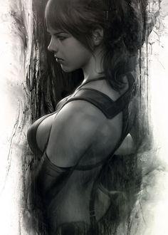Quiet by ArtGerm