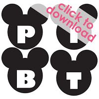 I& had good intentions to post this for, let& see.six months now? Better late than never I guess! For my Lily& third birthday party . Mickey Mouse Banner, Mickey Party, Mickey Mouse Birthday, Minnie Mouse Party, Joint Birthday Parties, Printable Banner, Free Printables, Free Banner, Third Birthday