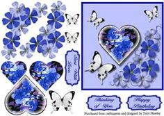 Blue Delight on Craftsuprint - View Now!