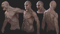 Tobias Kwan - The Order: 1886 · Concept Art Monster Concept Art, Alien Concept Art, Monster Art, Arte Horror, Horror Art, Dark Fantasy, Fantasy Art, Character Concept, Character Art