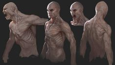 Tobias Kwan - The Order: 1886 · Concept Art Monster Concept Art, Alien Concept Art, Monster Art, Arte Zombie, Zombie Art, Character Concept, Character Art, Beast Creature, Vampire Art
