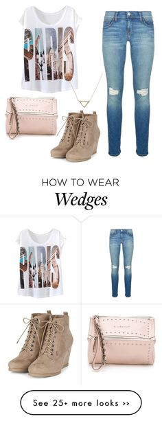 """""""PARIS"""" by stylewiktoria on Polyvore featuring Rebecca Minkoff, Givenchy and Banana Republic"""