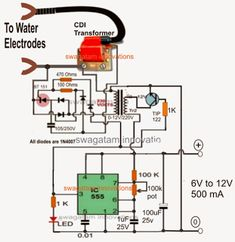 electronic circuit projects a homemade fence charger. Black Bedroom Furniture Sets. Home Design Ideas