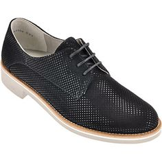 Paul Green 1894-057 An elegant classic sgoe which is easy to combine with every day and evening wear are these lace-ups by Paul Green made of printed suede in delicate black. The lining as well as the insole are made of soft leather, while the sole is made of skid-proof rubber.