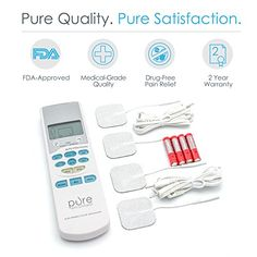 Pure Pulse TENS Electronic Pulse Massager Ultimate Review - Feel Pain Relief