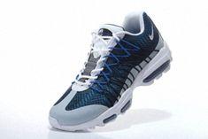sale retailer c38a1 e5819 Nike Air Max 95 Hyp PRM 20 Anniversary ULTRA JACQUARD Obsidian Photo Blue  White