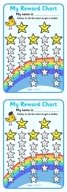 Reward chart could laminate and use Velcro to attach stars for good behaviour throughout the day