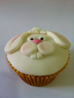 easter bunny cupcakes that i may attempt to replicate...