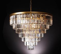This product listing is for the Width 7 Tier Round Odeon Crystal Chandelier.Size/Weight: DIAMETER X H; Star Chandelier, Beaded Chandelier, Glass Chandelier, Chandelier Lighting, Chandeliers, Crystal Uses, Clear Crystal, Fine Art Lighting, Rectangular Chandelier