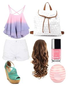 """""""Pretty Gorgeous"""" by aribebop ❤ liked on Polyvore featuring Topshop, Charlotte Russe and River Island"""