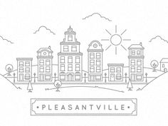Pleasantville by David Hultin