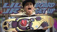 6 YEAR OLD JR GUTIERREZ BOARD SET UP AND INTERVIEW !!! – Nka Vids: Source: nigel alexander