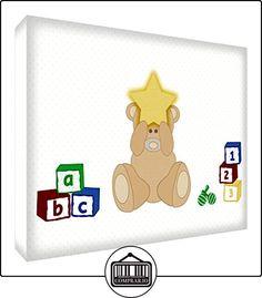 Feel Good Art Bearheart bloque decorativo de acrílico transparente pulido como un diamante, diseño de oso durmiendo, multicolor 21x 14,8x 2cm)  ✿ Regalos para recién nacidos - Bebes ✿ ▬► Ver oferta: http://comprar.io/goto/B01GCM7B10