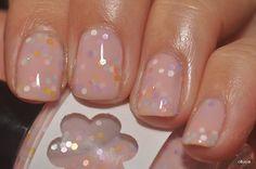 Conversation Hearts Glitter Nail Polish $9.00