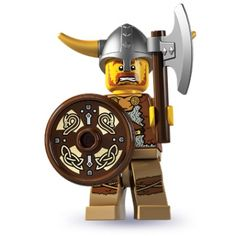 LEGO Minifigures - Viking (firestartoys, 2013)