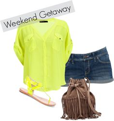 weekend getaway, created by lackey-lack on Polyvore