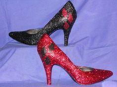 Harley Quinn heels - I think Mr. J would approve :)