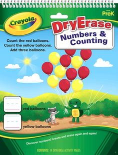 Crayola Dry Erase Numbers and Counting