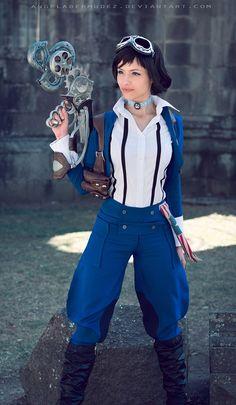 Steampunk Elizabeth from Bioshock Amazing Cosplay, Best Cosplay, Funny Cosplay, Larp, Bioshock Elizabeth, Elizabeth Cosplay, Bioshock Infinite, Bioshock Rapture, Bioshock Art