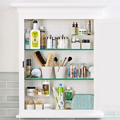 How to organize your medicine cabinet to save you time in the morning: https://www.onekingslane.com/live-love-home/organize-your-medicine-cabinet/