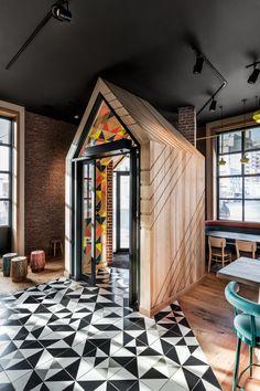 Nandos Danforth by DesignAgency Arch Interior, Soho House, Commercial Interiors, Design Firms, Restaurant Design, Condo, Architecture, Home Decor, Homemade Home Decor