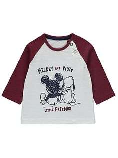 Disney Mickey and Pluto Top, read reviews and buy online at George at ASDA. Shop from our latest range in Baby. Your little Disney fan can spend their day ac...