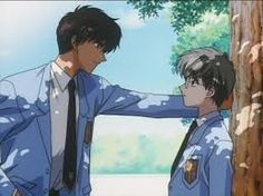 CardCaptor Sakura ~~~ Touya confronts Yukito ...if only it was more of an honest confession.