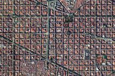 10. Eixample District in Barcelona, Spain | These Satellite Photos Will Make You Feel Freakishly Small
