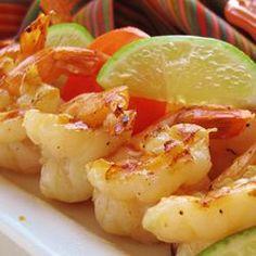 Grilled Tequila-Lime Shrimp Allrecipes.com