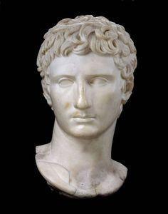 Augustus, marble. Ariccia, near Rome, Italy. 1st or 2nd century A.D.