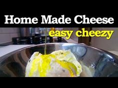 Making our own Cheese : Easiest how-to ever ! - YouTube