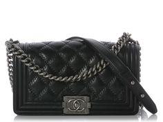 Chanel Black Medium Boy Bag
