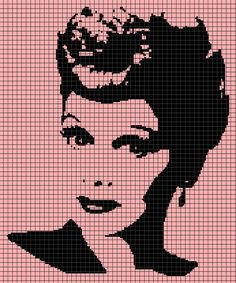 Lucille Ball (Graph AND Row-by-Row Written Crochet Instructions) - 02
