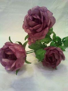 gül, rose, ipek, ipek böcekciliği, ipek kozası, koza çiçeği, ipek kozasından çiçek, silk, silk cocoon, silk flower, ipek el sanatları, www.ipekelsanatlari.com
