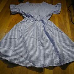 Saleblue/White Dress