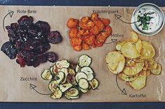 Gemüsechips - einfach selbstgemacht