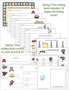 Spring time alphabet cards and writing book has been added to 1 - 2 - 3 Learn Curriculum. You will find the file located under the assorted sheets page. Bottom - right hand side..... :) 1 - 2 - 3 Learn Curriculum is a members curriculum web site. :) Thank you. Jean 1 - 2 - 3 Learn Curriculum