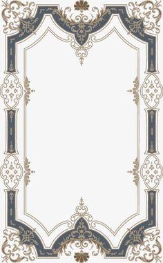 European pattern border, Continental, Pattern, Frame PNG and Vector Islamic Art Pattern, Pattern Art, Floral Frames, Art Nouveau, Motif Art Deco, Photo Frame Design, Gifts For Office, Stencil Designs, Carpet Design