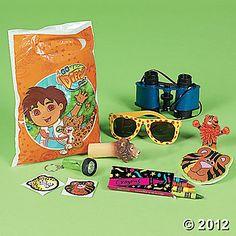 Go Diego Go Filled Treat Bag