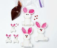 Fun Bunny Treats for Easter - Easter Dessert Ideas