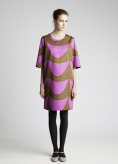Marimekko dress. Yes, I am in love with Marimekko. Guilty.