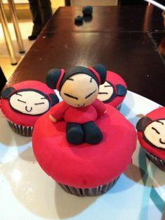 Pucca Cupcakes