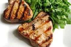 Pomegranate Marinated Tuna Steaks by cheesepleasebyjess #Tuna #Pomegranate