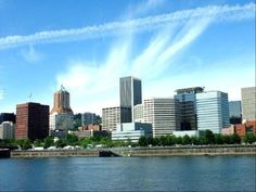 Waterfront and skyline - Portland