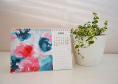moniquilla_ prints_pattern design: Calendario - Hola 2015