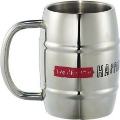 Stainless Barrel Mug 14oz