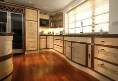 ART DECO KITCHENS | art deco kitchen this beautiful bespoke art deco commission was ...
