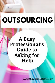 A guide to outsourcing your errands such as groceries, laundry, pet care and more. But where is the line, when you have stopped doing anything on your own and rely on others for every task? Read on for my advice and a caveat. Outsourcing Jobs, Virtual Jobs, Investing In Stocks, Financial Success, Work Life Balance, Career Advice, Finance Tips, Money Management, Money Saving Tips