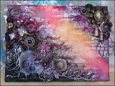 That Craft Place Challenge Blog: Winner and Top 3 - Anything Goes Mixed Media Challenge
