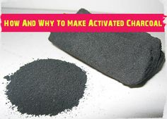 How And Why To Make Activated Charcoal - SHTF, Emergency Preparedness, Survival Prepping, Homesteading Survival Food, Outdoor Survival, Survival Prepping, Survival Skills, Survival Hacks, Survival Quotes, Survival Shelter, Survival Stuff, Survival Equipment